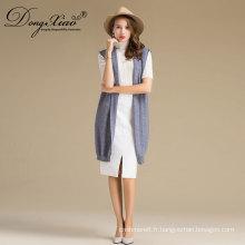 Dernière vente en gros de laine pure Moyen-âge femmes chandail