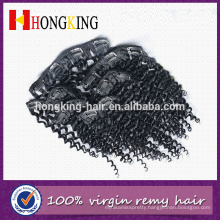 100% Virgin Human Hair No Shedding No Tangle Indian Kinky Curly Remy Hair Extension