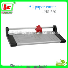 Hot selling manual guillotine paper cutter, round paper cutter
