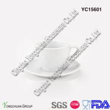 Ensemble de café espresso blanc céramique
