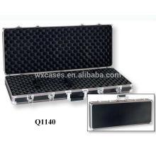 anodizado caja de fusil de aluminio con espuma adentro fabricante de buena calidad