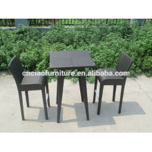 Modern leisure bar furniture synthetic rattan bar stool