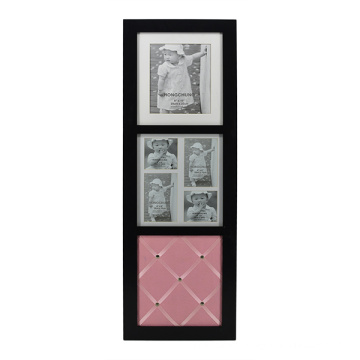Wooden Frame with Momo Board for Home Decoration