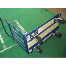 Camión manual con plataforma de cuatro ruedas pH3008