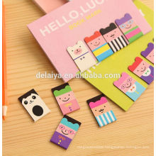 Creative Small Clip Magnetic Bookmark Student Stationery Cute Cartoon Bookmark Magnet