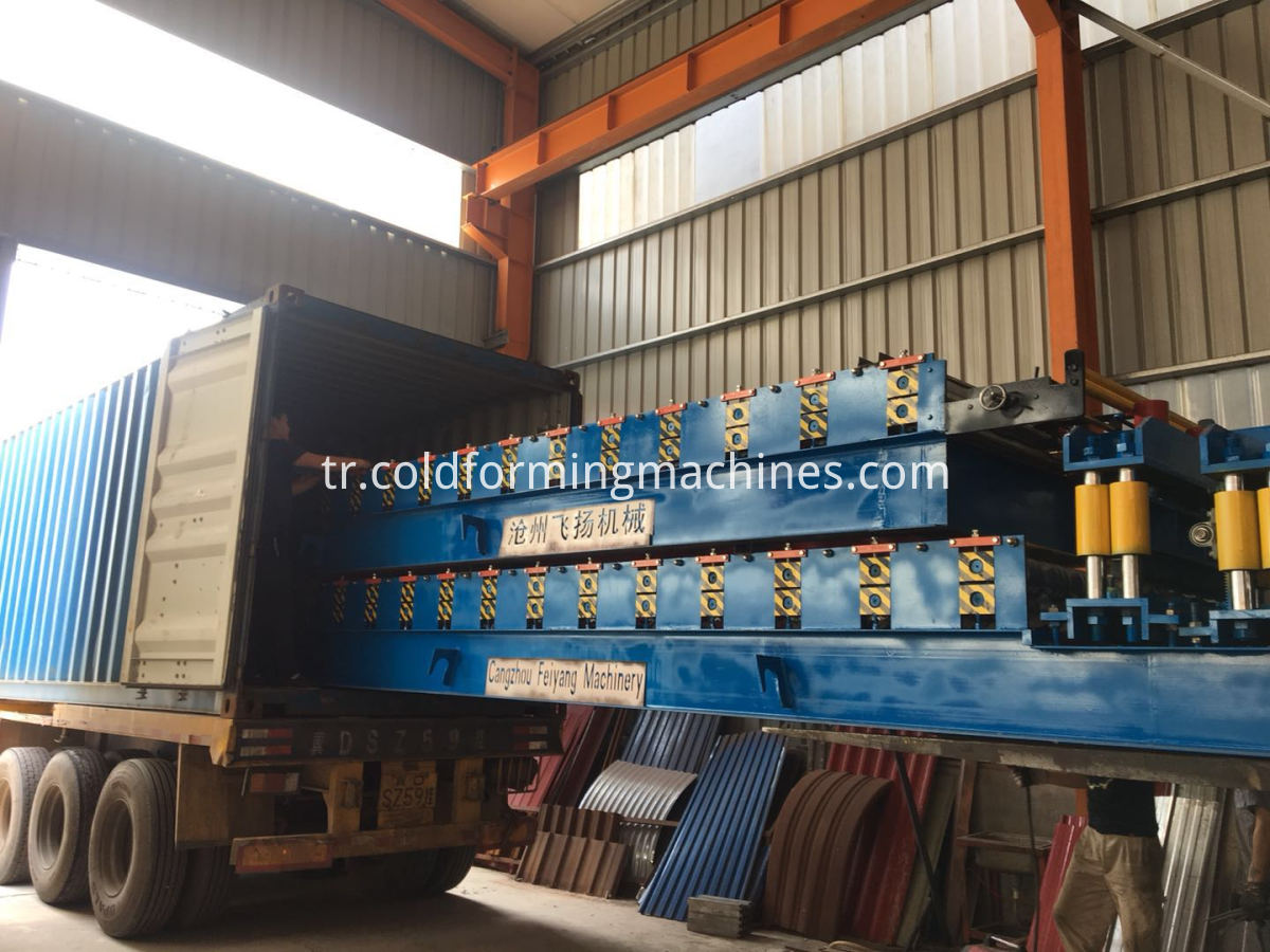 Loading Steel Sheet machine