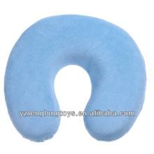 Cómodo almohadilla de almohada de viaje de almohada de espuma de memoria en forma de u