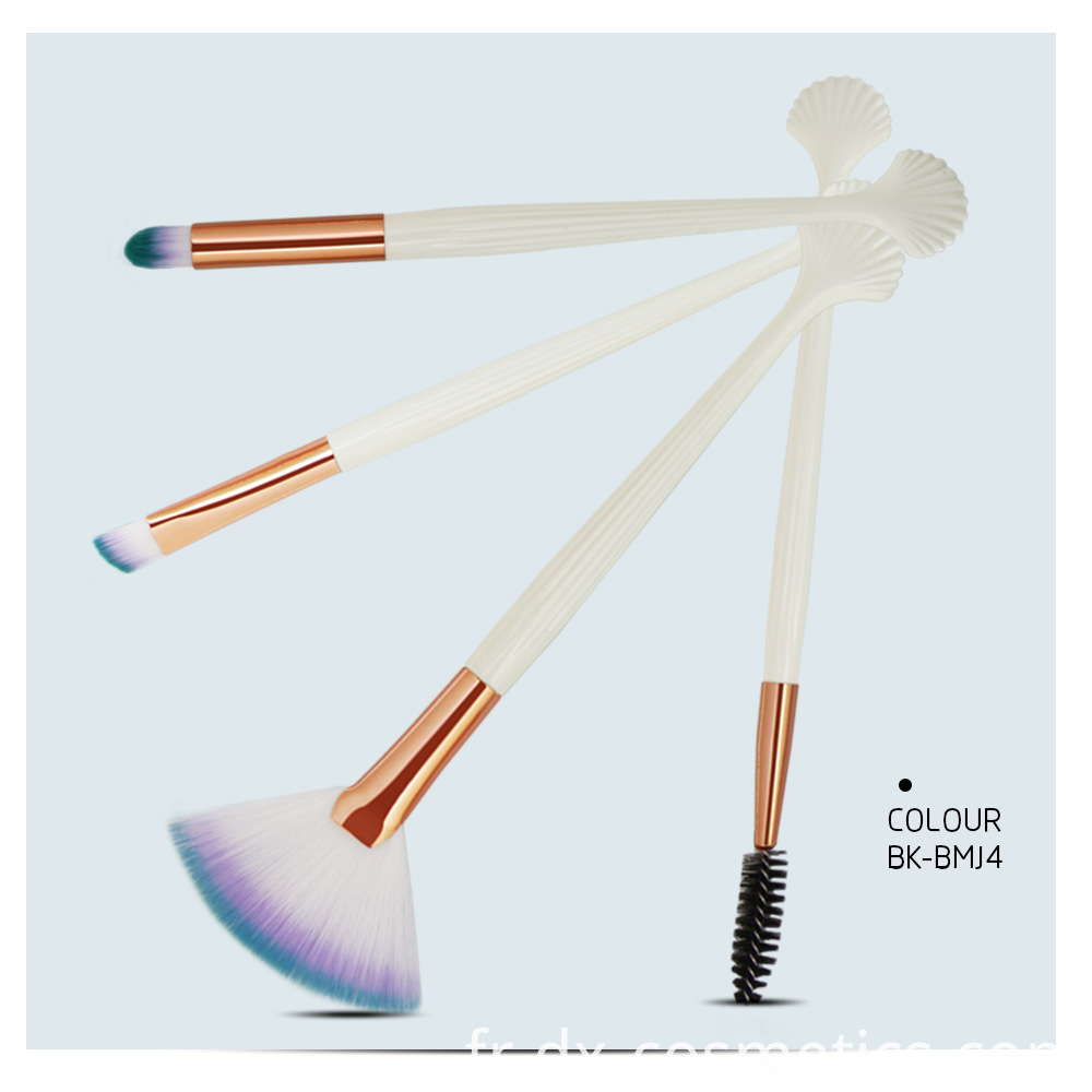 4 Pieces Makeup Brushes Sets 5