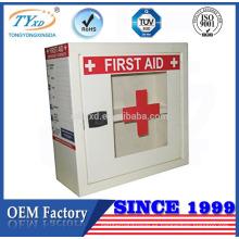 barato pequeño caja de primeros auxilios de metal vacío