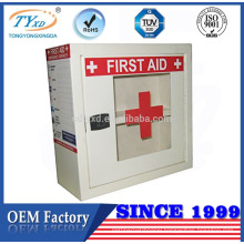 cheap small empty metal first aid box