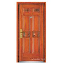Steel Wooden Security Door (FXGM-A106)