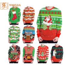 Sweatshirts de vente chaud d'impression numérique de Noël