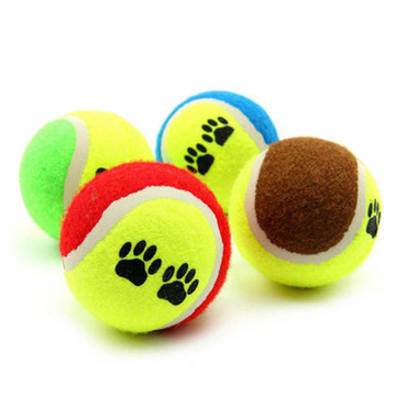Custom Pet Dog Rubber Throw Toy Mini Dog Tennis Balls Toys