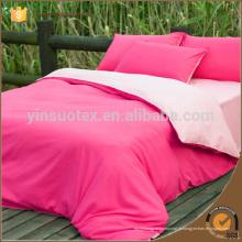 Quente e Sweet duas cores Folha de cama