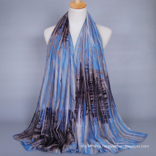 Hot selling dubai hijab wholesale printed scarf shawl women hijab 180x90 cm cotton scarf