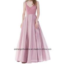 Prom Dresses Bridesmaid Vest Crystal V-Collar Party Formal