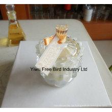 Heißer Verkauf Dekorative Glas Imperial Crown Kerzenhalter mit Guter Qualität