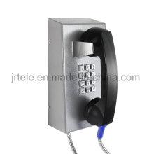 Teléfono SIP / VoIP a prueba de vandalismo, teléfono inalámbrico Prison, teléfono inalámbrico resistente