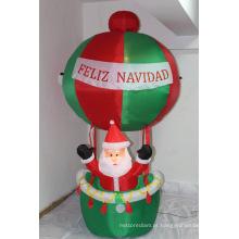 Decoração inflável leve exterior super competitiva do Natal