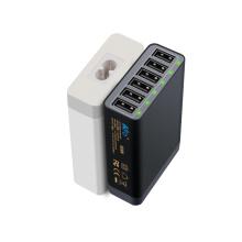 Carregador universal de 60W USB com 6port para iPhone6s