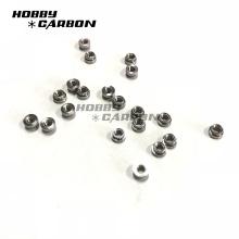 Sujetadores de hardware M3 Nudos de presión de aluminio moleteado para marcos de Drones