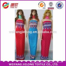 El mejor precio de la impresión de tela de rayón liso Sold On Alibaba