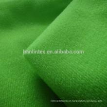 Tecido tricot 100% poliéster escovado para vestuário