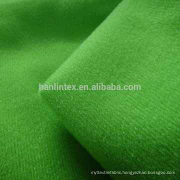 100%polyester tricot brushed knitting fabric for garment