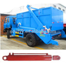 Telescopic hydraulic cylinder for garbage compactor