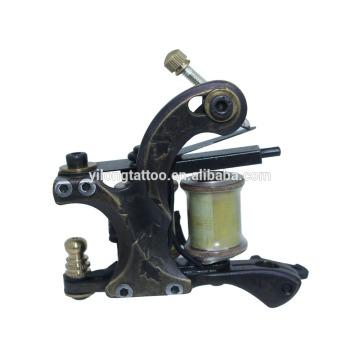 Máquina original del tatuaje de la tortuga del cobre para el trazador de líneas y el sombreado