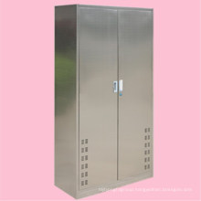 Home furniture home clean tool cabinet 304 stainless steel 2 door cabinet