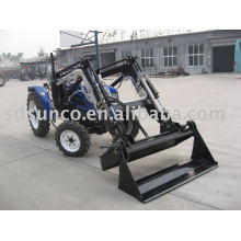 farm machine 4 in1 loader on tractor