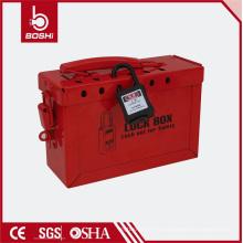 Osha-K01 Caja de seguridad de acero rojo con caja de seguridad