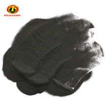 Black fused alumina abrasive raw material powders