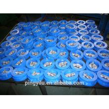 Flapper água tipo wafer dupla placa de válvula de retenção dupla mola de ferro carregado mariposa conjunto baixa pressão válvula de retenção preço
