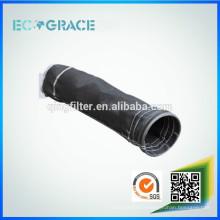 Filtre à haute température Sac à filtre en fibre de verre Sacs collecteurs de poussière industriels