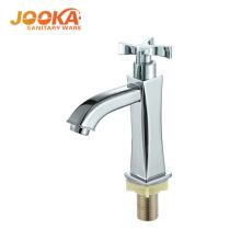 China bathroom cheap single cold wash basin faucet