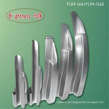 Laringoscópio de fibra óptica embutido