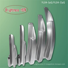 Laryngoscope à fibre optique intégré