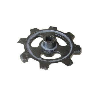 Custom manufacturing process precision steel scaffolding parts