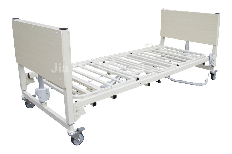 adjustable nursing home bed foldable