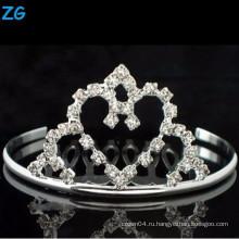 Гребни гребня высокого качества bridal, дешевые гребни волос, гребень волос сердца венчания,