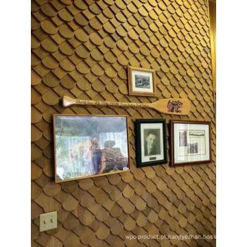Placa de parede de madeira por atacado de fábrica como fundo