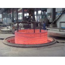 Estructura de equipo de horno de forja de anillo de brida