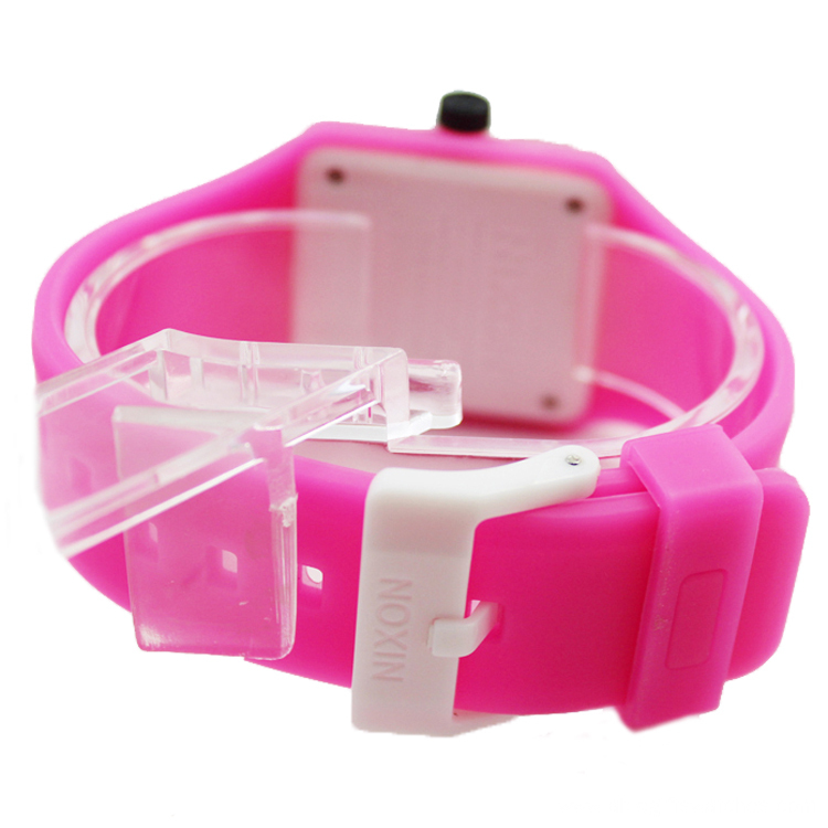 Children Silicone Wristband Watch With Smile Shape