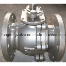 2 PC ANSI Flange End Ball Valve with Stainless Steel RF