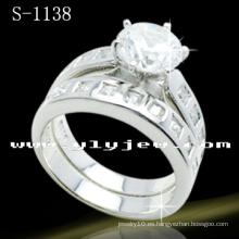 Nuevos estilos 925 conjuntos de anillos de plata (S-1138)