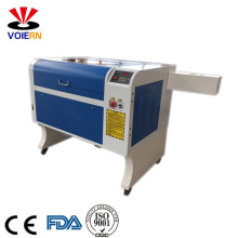 Liaocheng xuanzun low price co2 acrylic/ wood/ leather/glass dog tag laser engraving and cutting machine 4060 50W 60W 80W