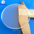 Forme de cercle verre saphir verre de verre optique