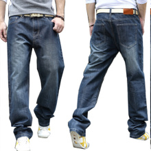 Wholesale Men 's Jogger Denim Jeans De Algodão
